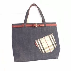 Burberry Denim Bag